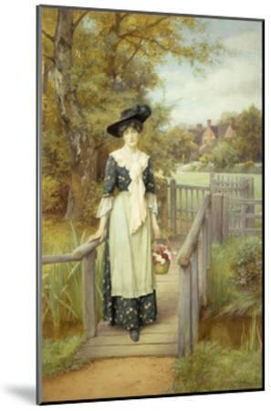 A Country Beauty-Charles Edward Wilson-Mounted Giclee Print