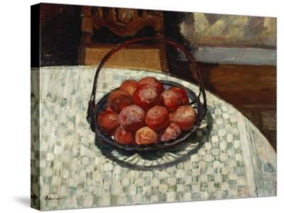 The Basket of Fruit-Henri Lebasque-Stretched Canvas Print