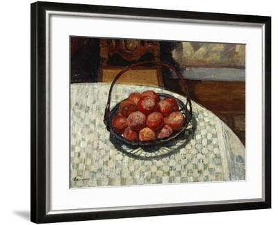 The Basket of Fruit-Henri Lebasque-Framed Giclee Print