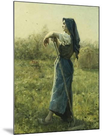 The Harvester-Jules Breton-Mounted Giclee Print