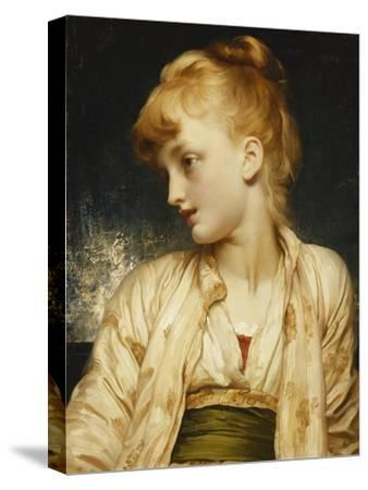 Gulnihal-Frederick Leighton-Stretched Canvas Print