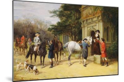 A Helping Hand-Heywood Hardy-Mounted Giclee Print