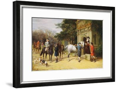 A Helping Hand-Heywood Hardy-Framed Giclee Print