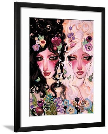 Light and Dark-Natasha Wescoat-Framed Giclee Print