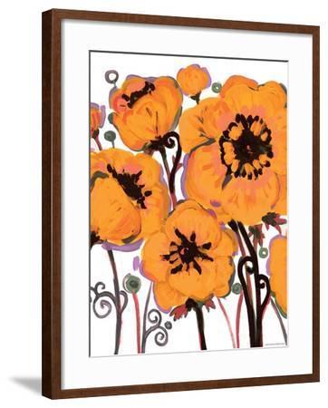 Gold Anemone-Natasha Wescoat-Framed Giclee Print