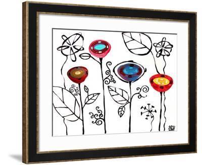 Blossom Study II-Natasha Wescoat-Framed Giclee Print