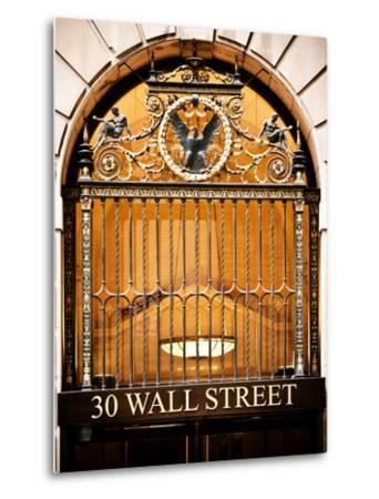 Nysc 30 Wall Street Building, Financial District, Manhattan, New York City, US, USA, Vintage Colors-Philippe Hugonnard-Metal Print