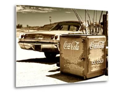 Photography Style, Route 66, Gas Station, Arizona, United States, USA-Philippe Hugonnard-Metal Print
