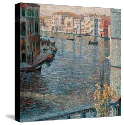 The Grand Canal in Venice-Boccioni Umberto-Stretched Canvas Print