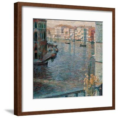 The Grand Canal in Venice-Boccioni Umberto-Framed Giclee Print