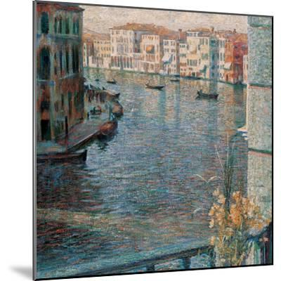 The Grand Canal in Venice-Boccioni Umberto-Mounted Giclee Print