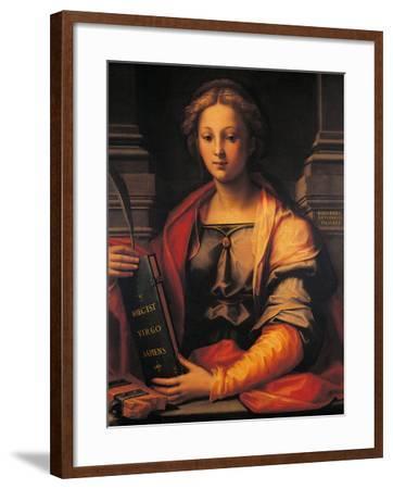 Saint Catherine of Alexandria-Giovanni Antonio Sogliani-Framed Giclee Print