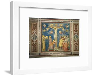 Stories of the Passion the Crucifixion-Giotto di Bondone-Framed Giclee Print