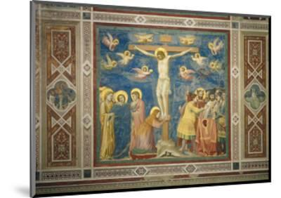 Stories of the Passion the Crucifixion-Giotto di Bondone-Mounted Giclee Print