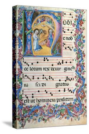 Day Hours and Night Hours Antiphonary From First Saturday of Advent To IV Sunday After Epiphany--Stretched Canvas Print