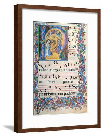 Day Hours and Night Hours Antiphonary From First Saturday of Advent To IV Sunday After Epiphany--Framed Giclee Print