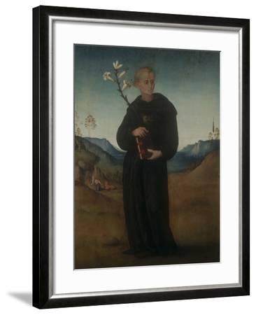 St. Nicholas of Tolentino-Francesco Ubertini (Bachiacca)-Framed Giclee Print
