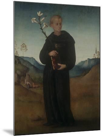 St. Nicholas of Tolentino-Francesco Ubertini (Bachiacca)-Mounted Giclee Print