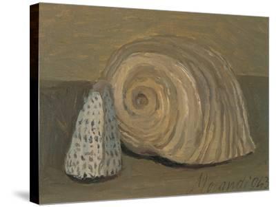 Still Life (Shells)-Morandi Giorgio-Stretched Canvas Print