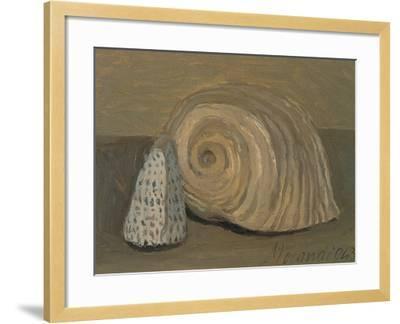 Still Life (Shells)-Morandi Giorgio-Framed Giclee Print