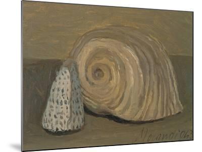 Still Life (Shells)-Morandi Giorgio-Mounted Giclee Print