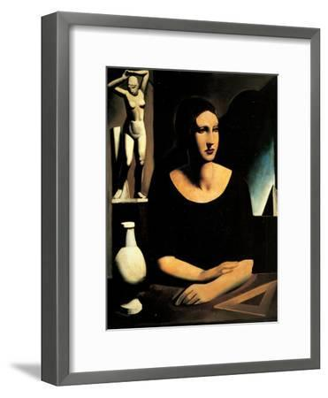 The Pupil-Sironi Mario-Framed Giclee Print