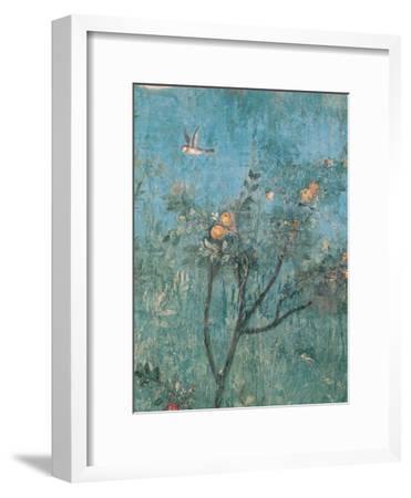 Summer Triclinium: Garden Paintings, 20, 1st Century, Mural--Framed Giclee Print