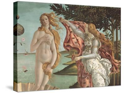 The Birth of Venus-Sandro Botticelli-Stretched Canvas Print