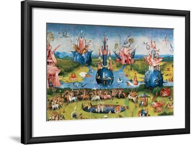 Bodies of Christian Martyrs Brought by the Angels-Hieronymus Bosch-Framed Giclee Print
