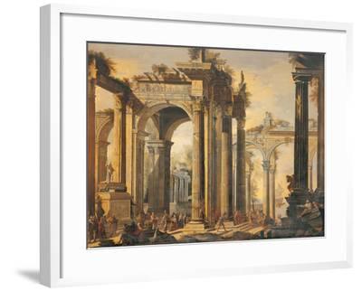 The Sacrifice of Polyxena-Giovanni Ghisolfi-Framed Giclee Print