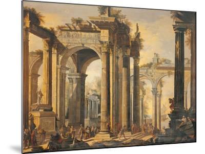 The Sacrifice of Polyxena-Giovanni Ghisolfi-Mounted Giclee Print