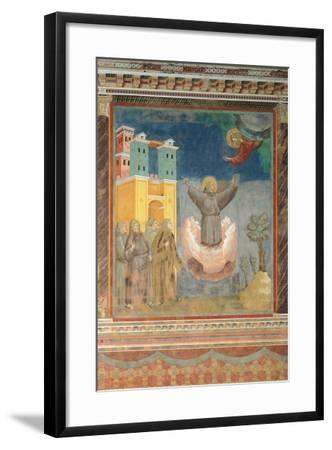 The Ecstasy of St Francis-Giotto di Bondone-Framed Giclee Print