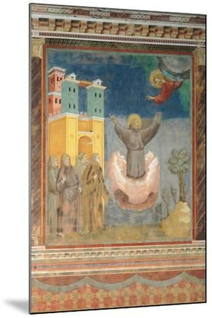 The Ecstasy of St Francis-Giotto di Bondone-Mounted Giclee Print