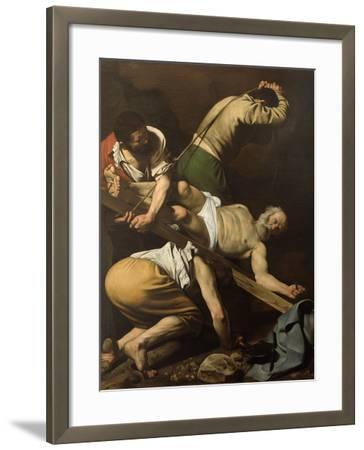 Martyrdom of St Peter-Caravaggio-Framed Giclee Print
