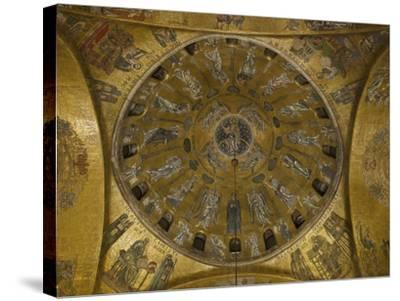St Marks Basilica, Venice, 10th Century--Stretched Canvas Print