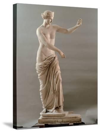 Statue of Aphrodite Type Capua, 2nd Century, White Marble, Full Relief--Stretched Canvas Print