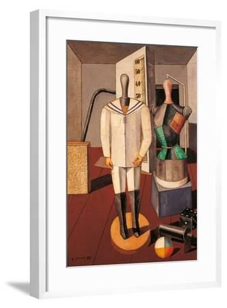 Mother and Son-Carlo Carr-Framed Giclee Print