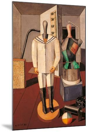 Mother and Son-Carlo Carr-Mounted Giclee Print