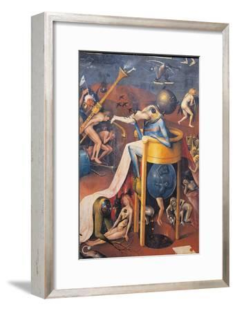 Garden of Earthly Delights - Hell Music-Hieronymus Bosch-Framed Giclee Print