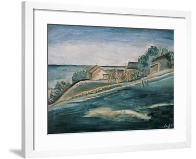 Landscape-Morandi Giorgio-Framed Giclee Print