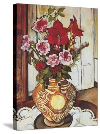 Flowers-Suzanne Valadon-Stretched Canvas Print
