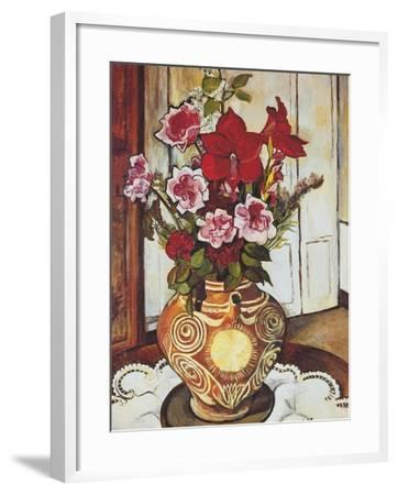 Flowers-Suzanne Valadon-Framed Giclee Print