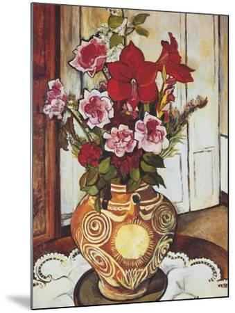 Flowers-Suzanne Valadon-Mounted Giclee Print
