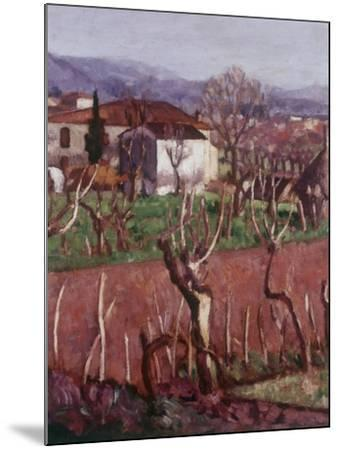 Farmhouse (Casa Colonica)-Ardengo Soffici-Mounted Giclee Print