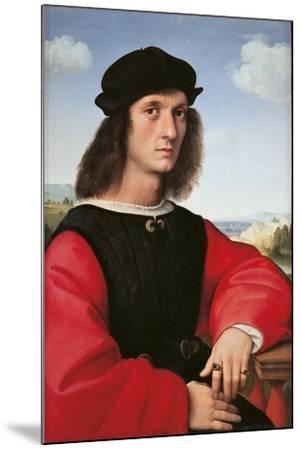 Portrait of Agnolo Doni-Raffaello Sanzio-Mounted Giclee Print