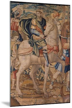 Elijah and Elisha's Stories. Elijah Predicts God's Punishment to Ahab- Bruxelles Manifacture-Mounted Giclee Print