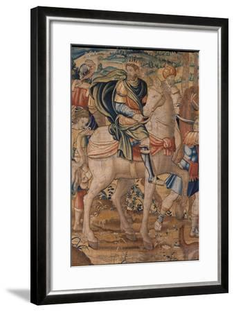 Elijah and Elisha's Stories. Elijah Predicts God's Punishment to Ahab- Bruxelles Manifacture-Framed Giclee Print