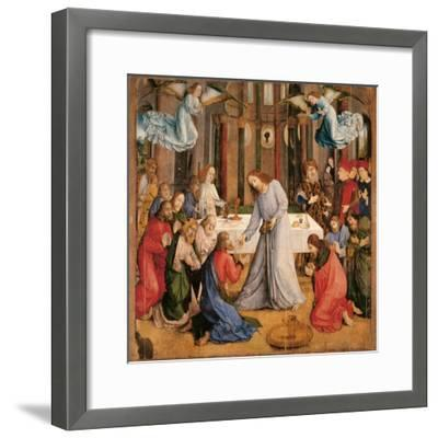 Communion of the Apostles-Giusto di Gand-Framed Giclee Print