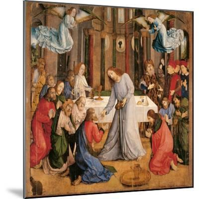 Communion of the Apostles-Giusto di Gand-Mounted Giclee Print
