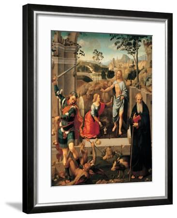 Christ Appearing To Mary Magdalene-Viti Timoteo-Framed Giclee Print